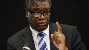 Den kongolesiska gynekologen Denis Mukwege.