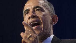 USA:s president Barack Obama