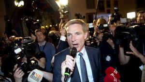 Dansk Folkepartis ordförande Kristian Thulesen Dah