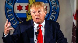 Donald Trump är en av republikanernas kandidater inför presidentvalet i USA.