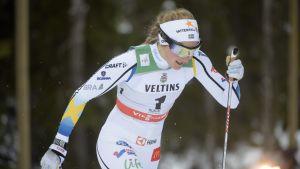 Stina Nilsson i Ruka 2015.