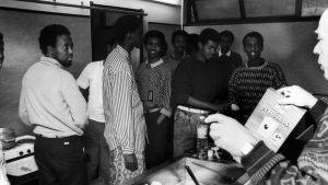 Somalier anländer till Finland, 1989