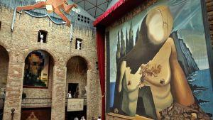 Näkymä Dalin museosta Figueresissa