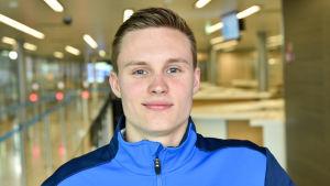 Oskar Kirmes tävlar för Finland i Rio.
