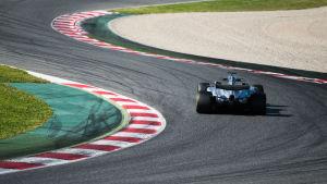 Valtteri Bottas kör VM-säsongen med en Mercedes.