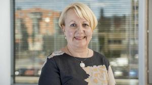 Marja-Leena Remes är chef för familje- och socialservice i Esbo.