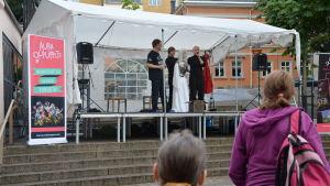 Konstens natt i Åbo 2017.