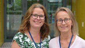 Anette Nordin och Ewa Johansson.