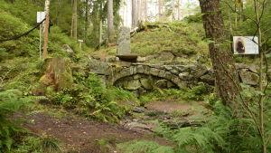 Källviken i Ekenäs har döpts till Dagmars park