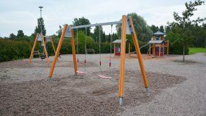 Säterihagens lekpark i Borgå.