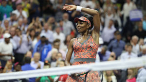 Venus Williams klar för semifinal i US Open.