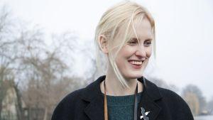 Den brittiska författaren Amy Liptrot.