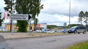 Borgågatan i Lovisa.