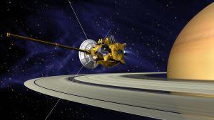 En konstnärs vision av Cassini  och Saturnus