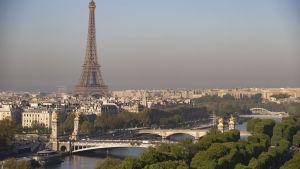 Eiffeltornet i april 2017.