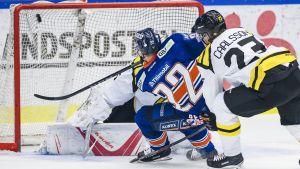 Janne Pesonen gör mål i SHL.