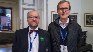 Håkan Masar och Hans Långbacka