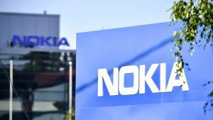 Nokias huvudkontor i Esbo i juli 2017.