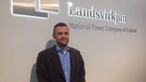 Isländska elbolaget Landsvirkjuns vice VD Oli Sveinsson