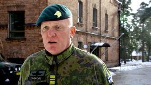 Stabchefen Jörgen Engroos.