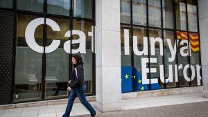 Det katalanska högkvarteret i Bryssel.