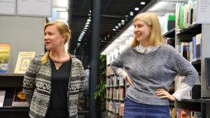 Paula Viertola och Sonja Skogster från Tilassa oy.
