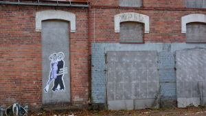 Kartongfabriken i Lovisa står tom.