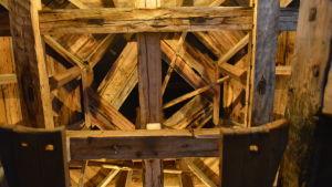 Klockstapeln vid Pedersöre kyrka