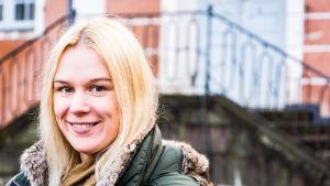 Yle Östnylands programvärd Katarina Lind
