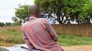 Jotham är butiksägare i Zimbabwe