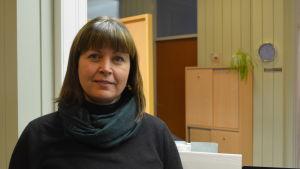 Verksamhetsledare Camilla Nyman vid Citygruppen i Jakobstad