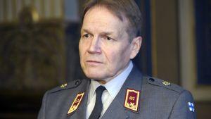 Underrättelsechef generalmajor Harri Ohra-aho