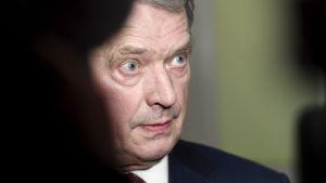 President Sauli  Niinistö.