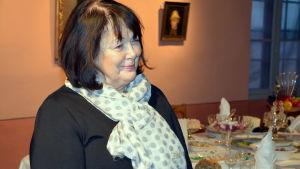 Ullrike Hjelt-Hansson från Aktiastiftelsen.