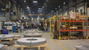 OSTP i Jakobstad tillverkar rostfria rör för industrins behov