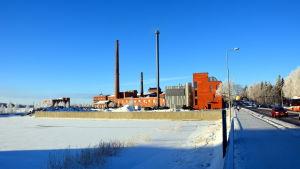 Platsen där SmartGrid-huset på Brändö ska stå.