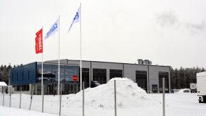 Försäljningskontoret vid Ekeri
