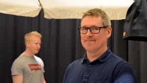 Mikael Kulju är vikarierande studiehandledare vid Inveon