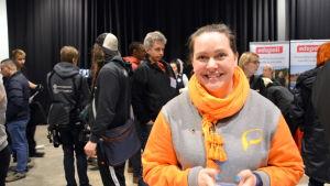 Ida-Lotta Lind jobbar på Prakticum