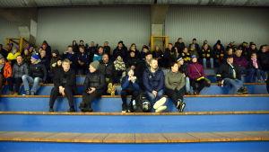 Publik på ishockeymatch