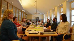 Deltagare i Hackney kursen i Jakobstad