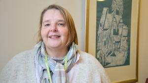Carre Lönnqvist är koordinator för mångkulturellt arbete vid Johannesförsamlingen i Helsingfors.