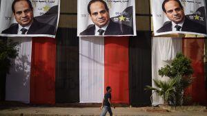 Abdel Fattah al-Sisi  - presidentvalskampanj