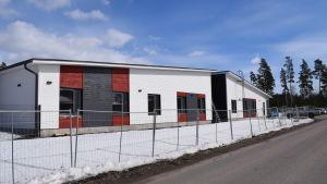 Här byggs vårdhemmet Birgitta i Gammelboda i Ekenäs.