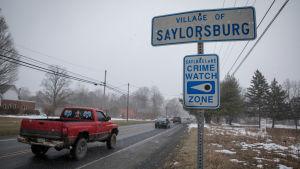 Saylorsburg i pennsylvania, USA