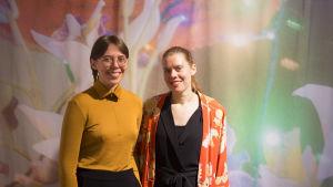 Ida Enegren och Johanna Bruun.