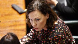 Utrikeshandels- och utvecklingsminister Anne-Mari Virolainen (saml.)