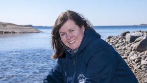 Generalsekreterare Aija Kaski från Håll skärgården ren