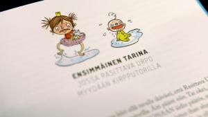 kuva prinsessa pikkiriikki -lastenkirjasta