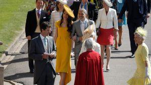 Den amerikanska skådespelaren George Clooney och hans hustru den brittiska juristen Amal Clooney